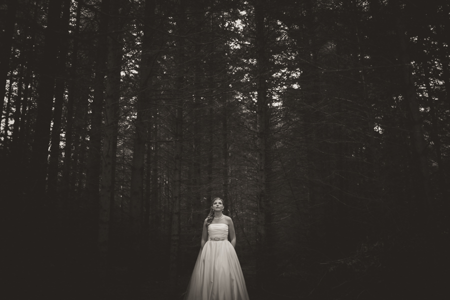 bride in the woods peterborough