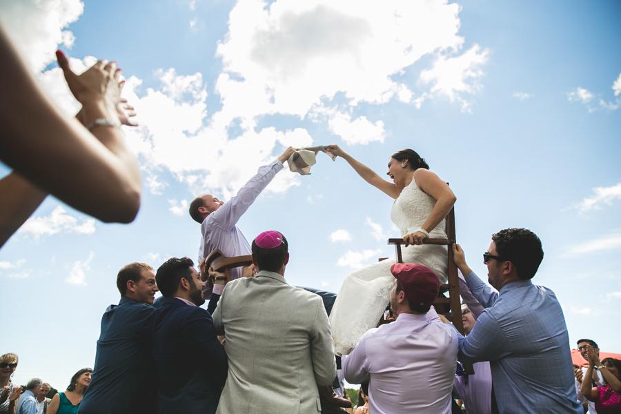 hora dance jewish wedding