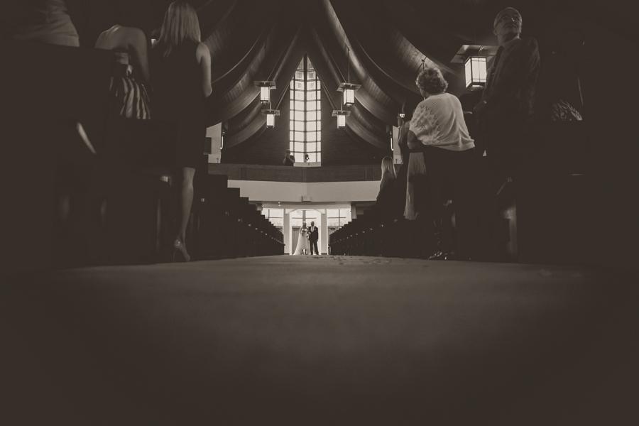 black and white ceremony oakville
