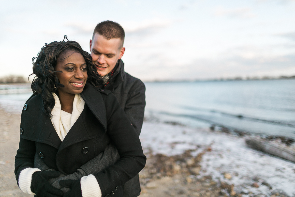 cherry beach engagement sessions