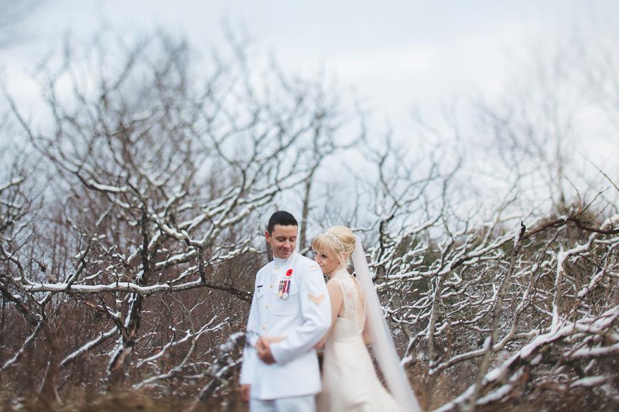 winter wedding apsley