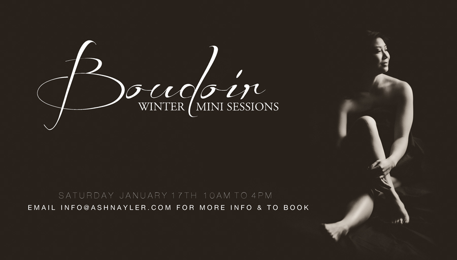 boudoir mini sessions