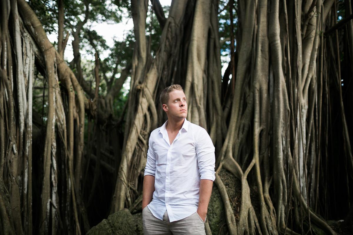 banyan tree wedding photographer groom