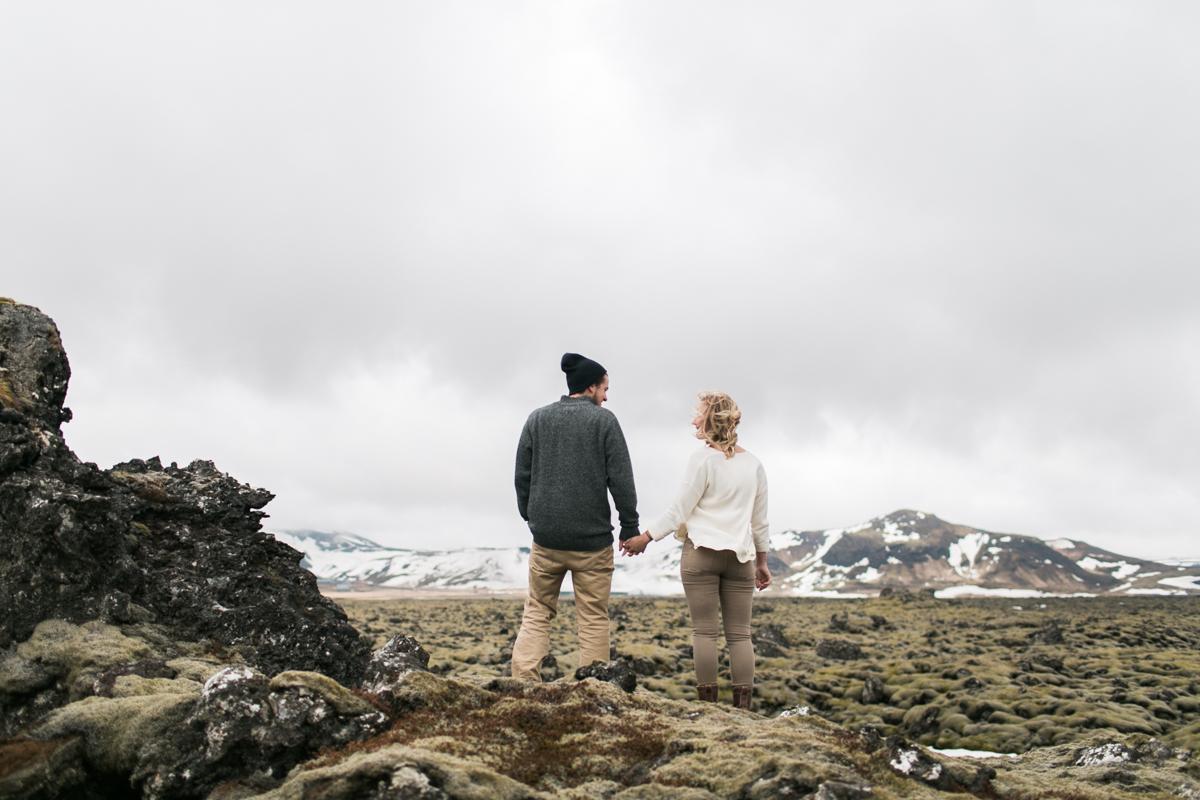 Iceland couples session