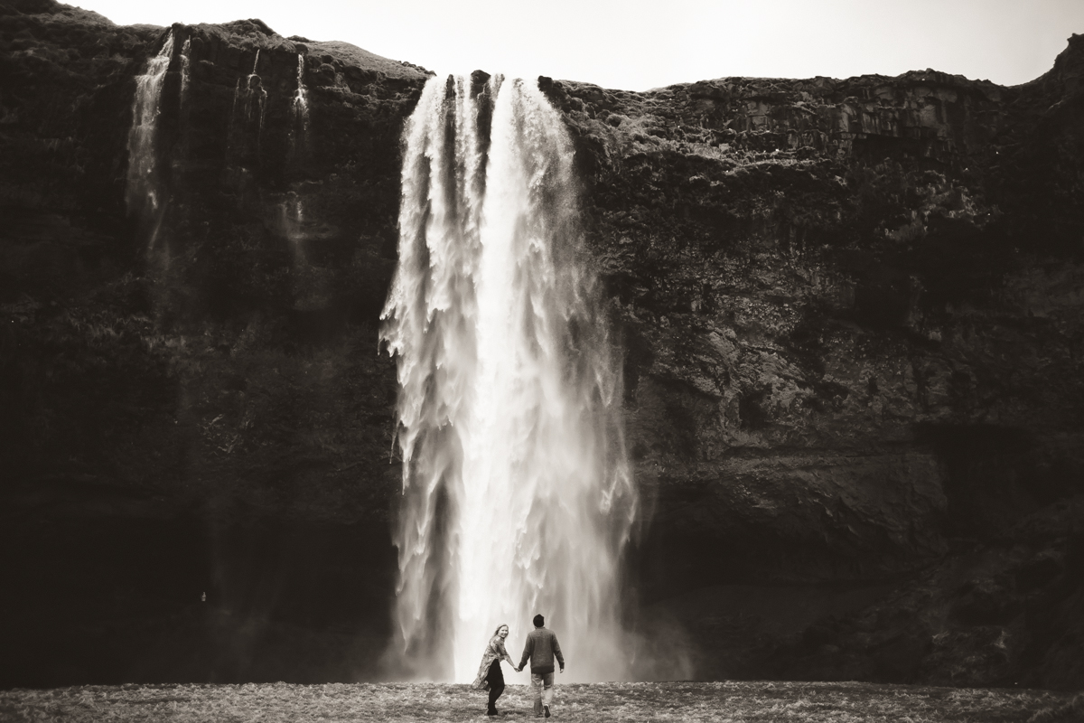 south iceland waterfalls