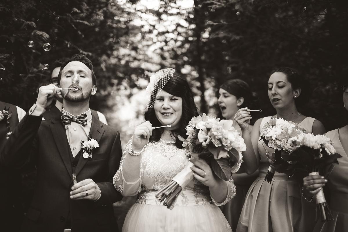wedding party south pond farms