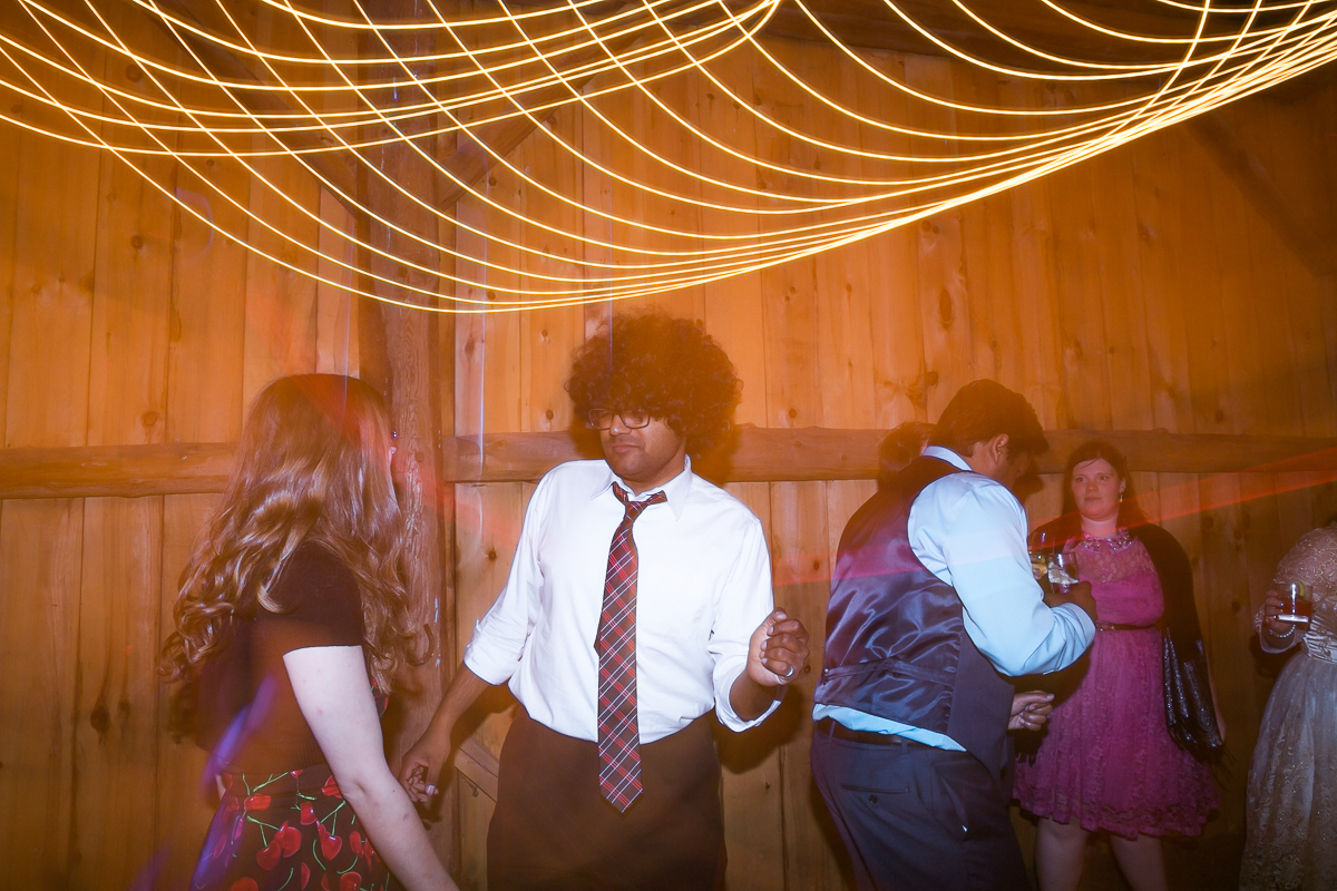 south pond farms wedding party
