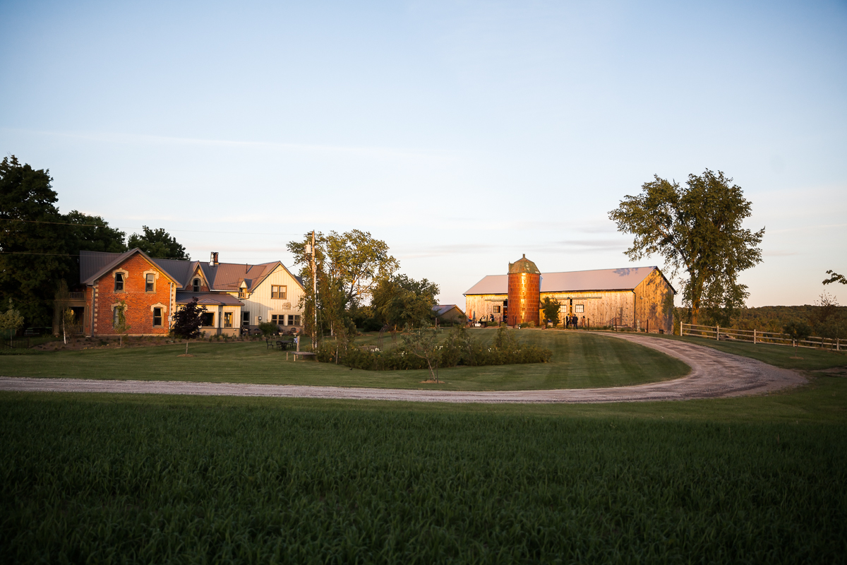 south pond farms wedding reception