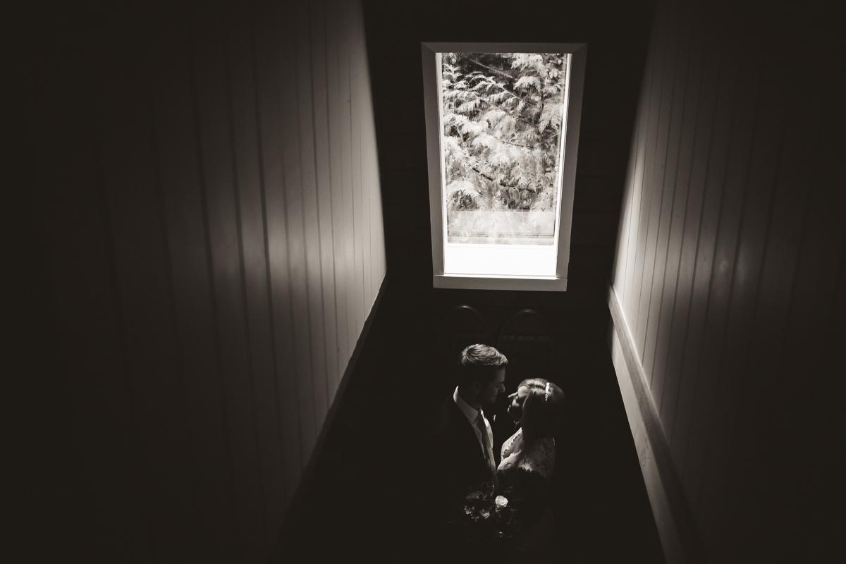 sunshinecoastelopement-window light black and white