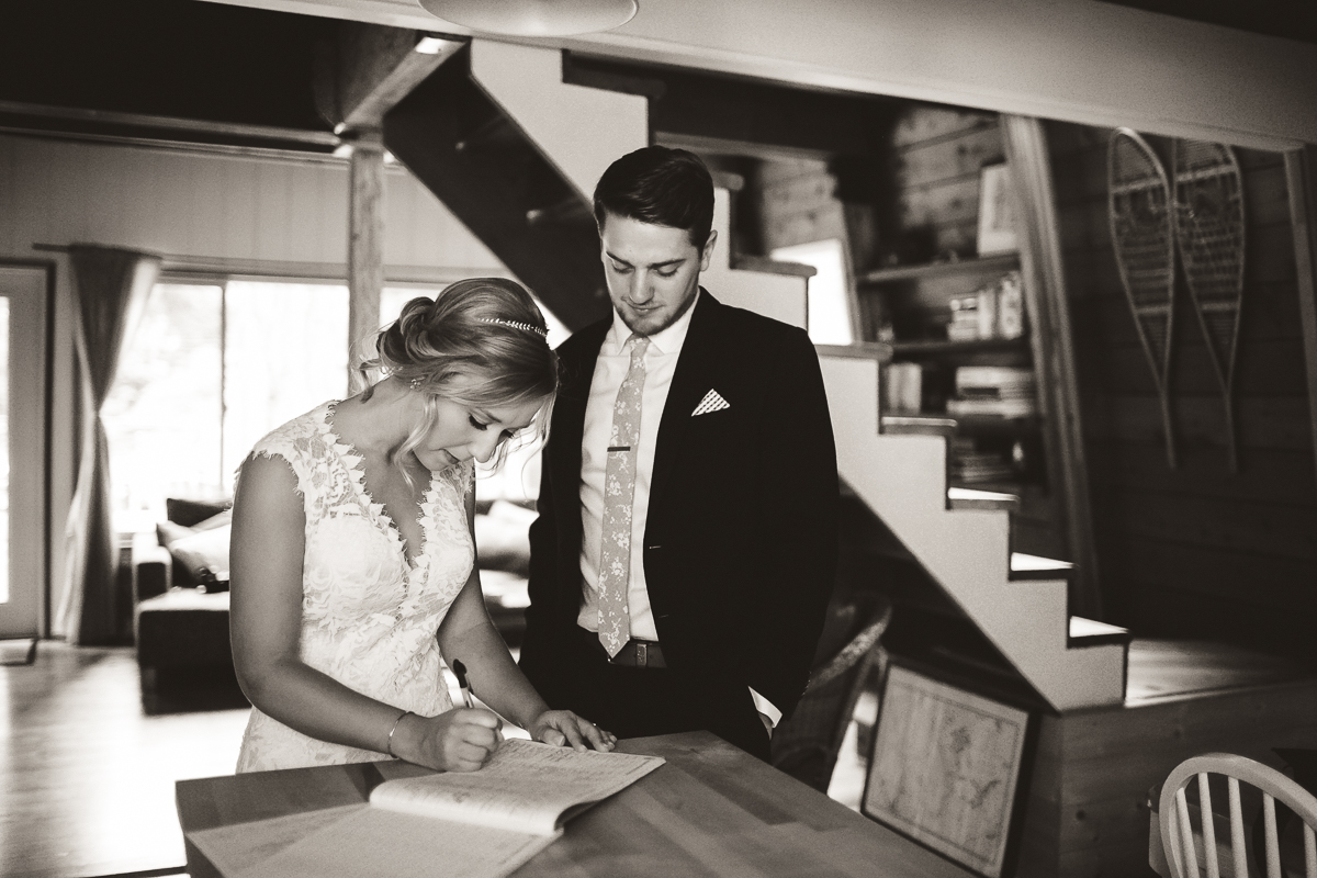 sunshinecoastelopement-signing papers