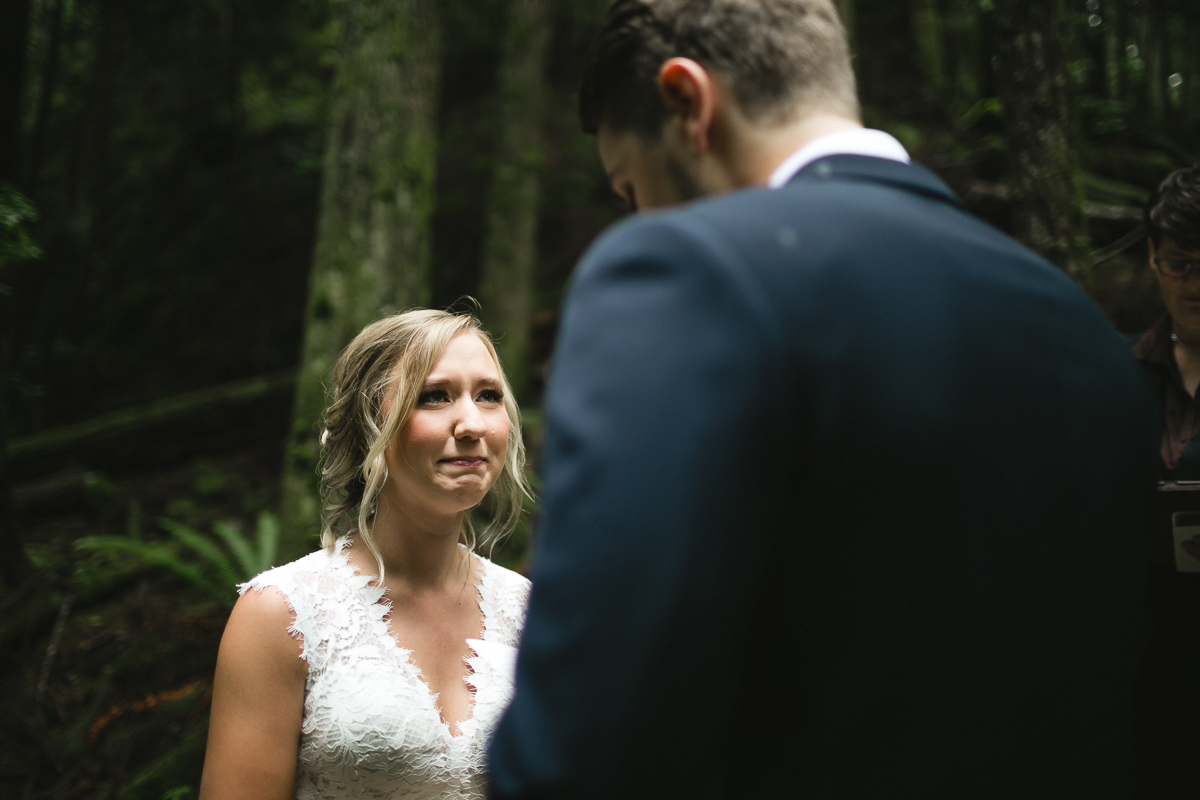 sunshine coast elopement-ceremony in old forest