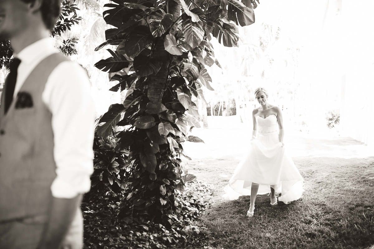 first look wedding photography mexico