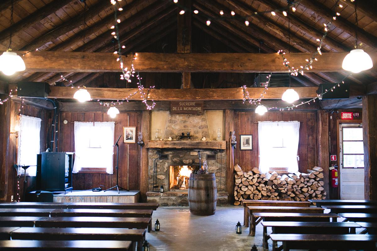 sucrerie de la montagne wedding