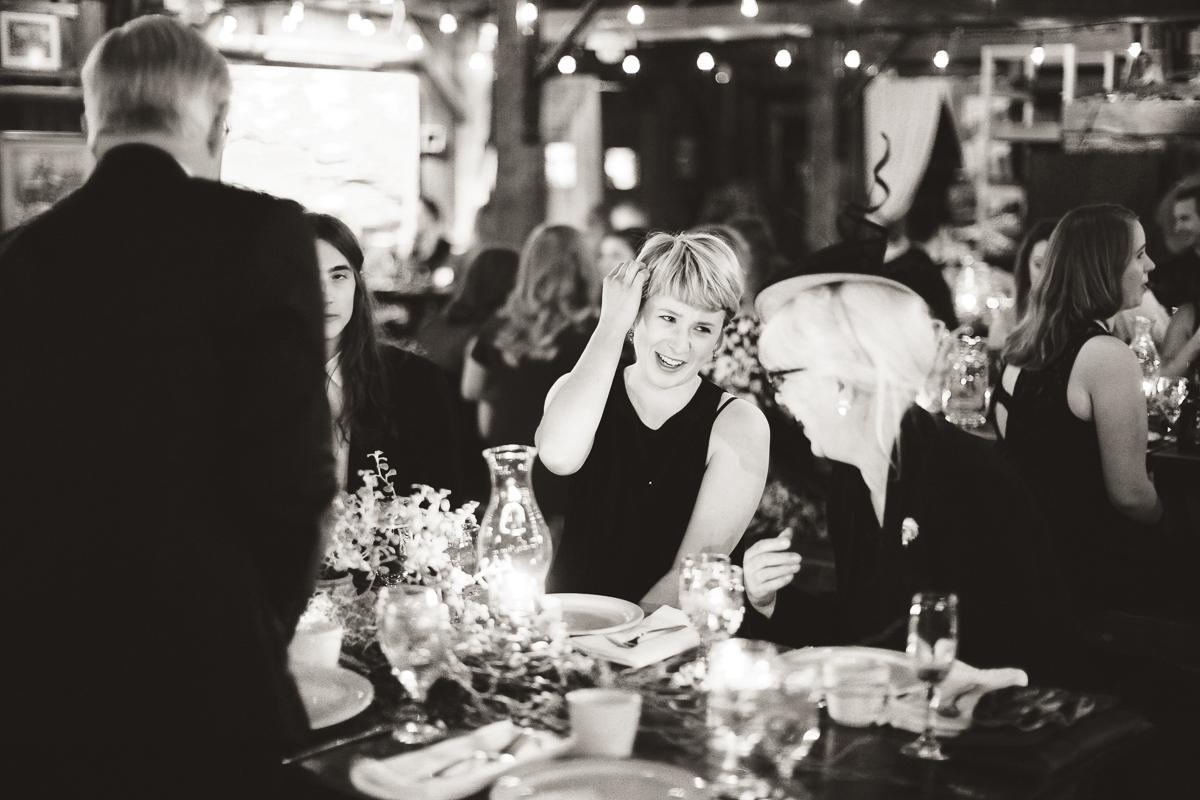 quebec candlelit wedding ceremony