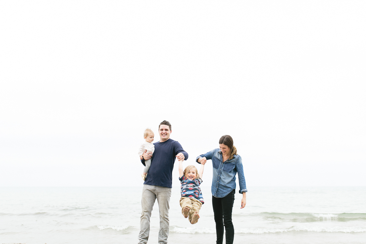port hope beach family photography
