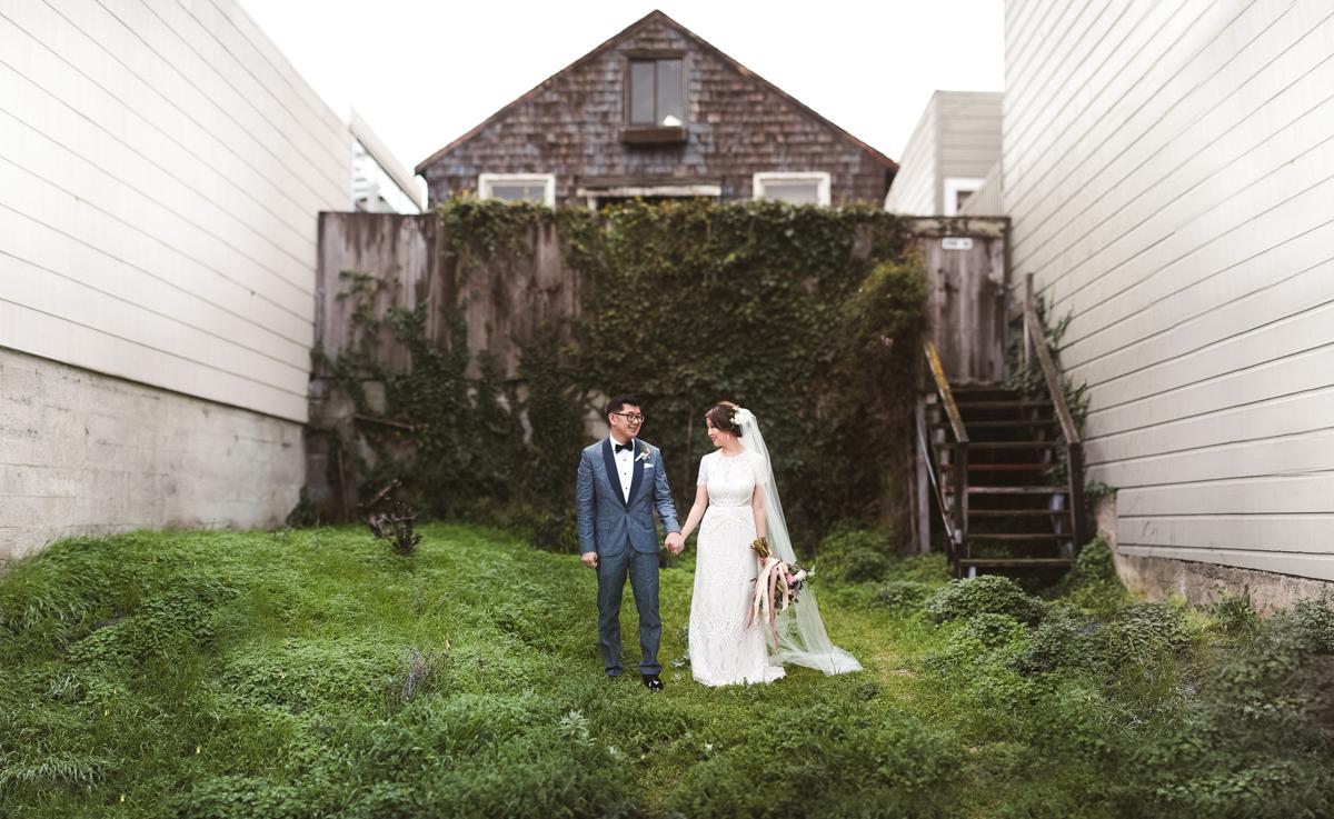 Potrero Hill San Francisco California Wedding