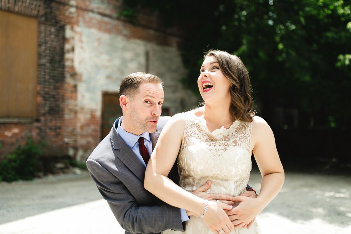 downtown peterborough wedding photography