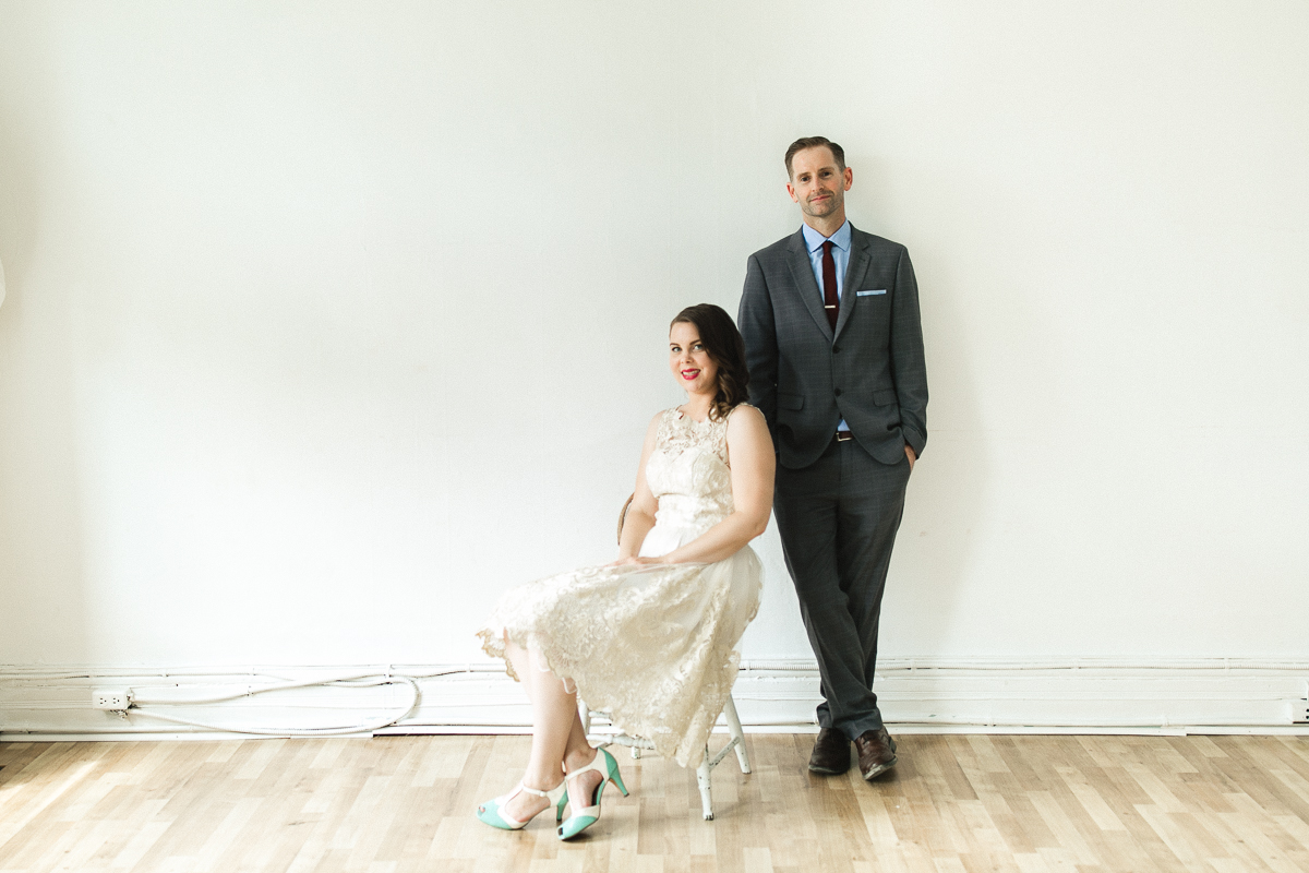 peterborough studio wedding