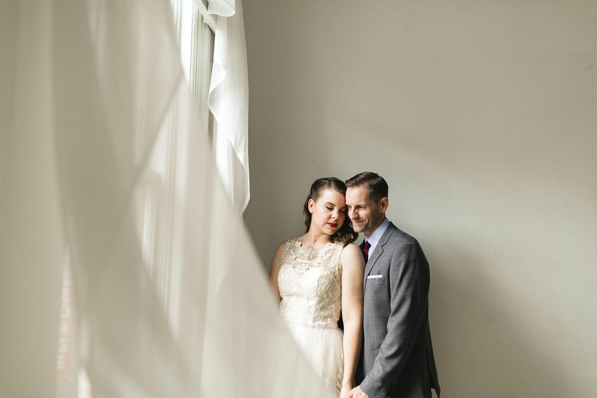 bride and groom george street peterborough studio