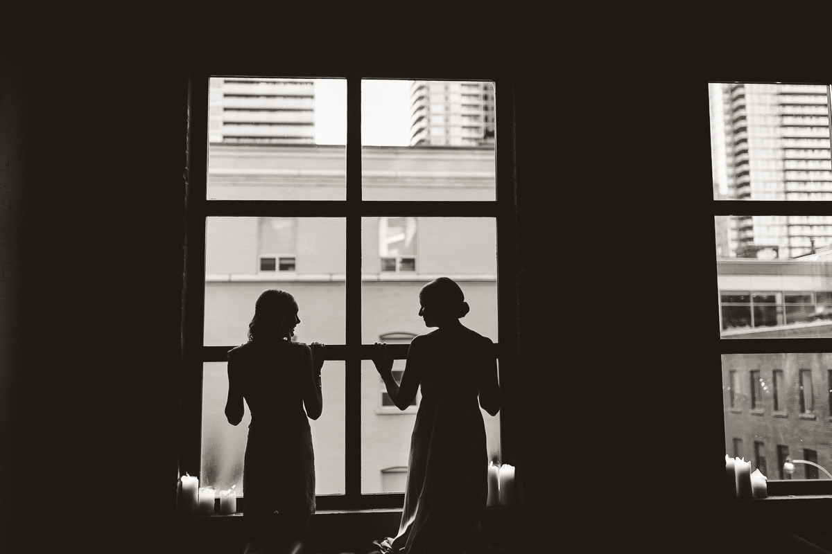 bridal portraits at the storys building