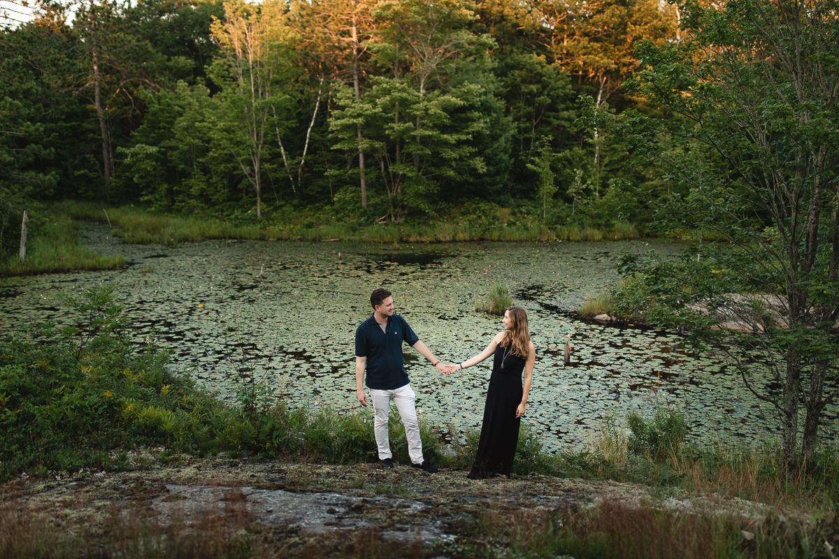 kawartha lakes engagement session
