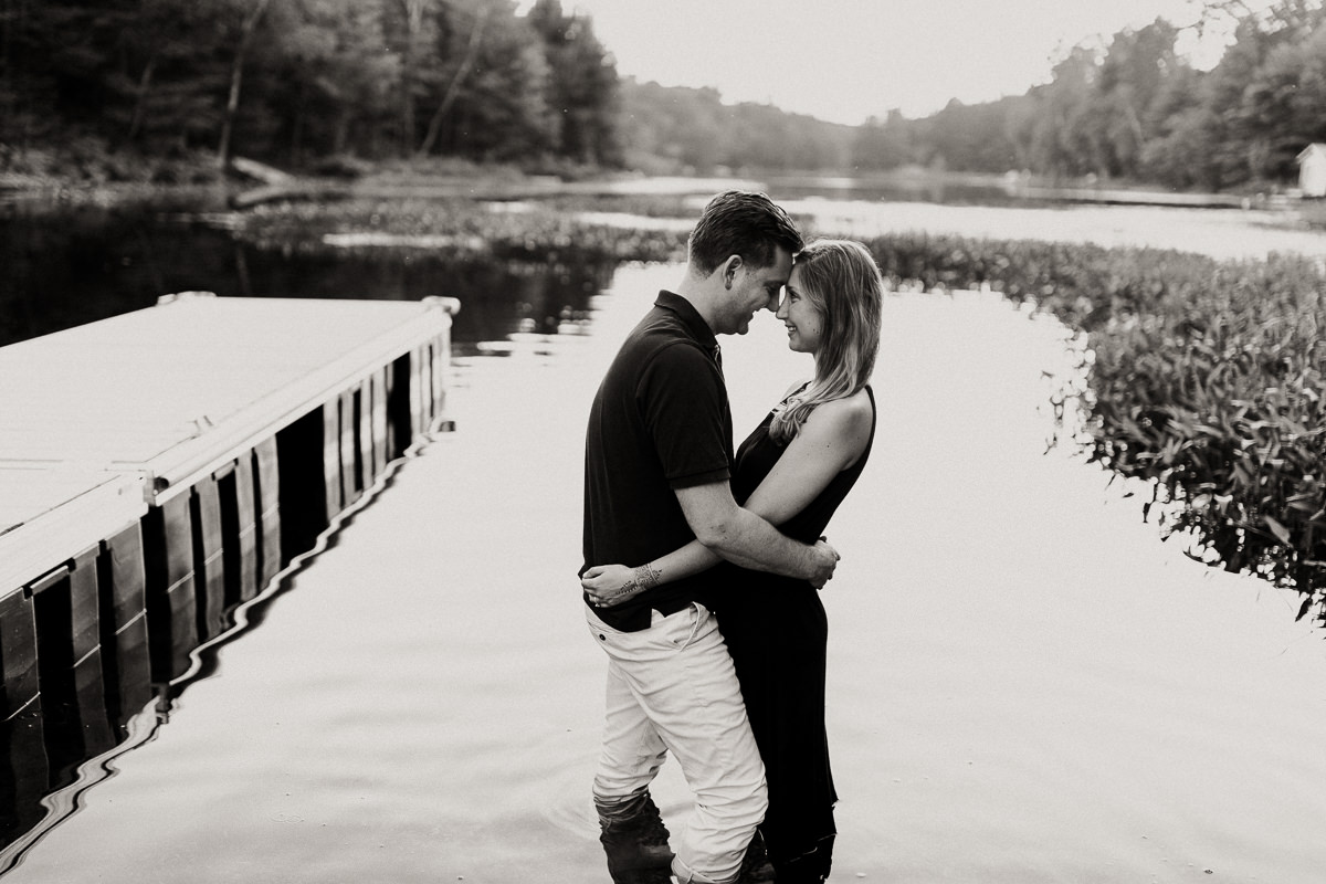 cottage couples session