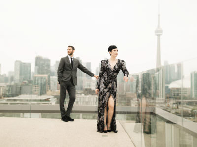 Wedding at the Thompson Hotel, Toronto