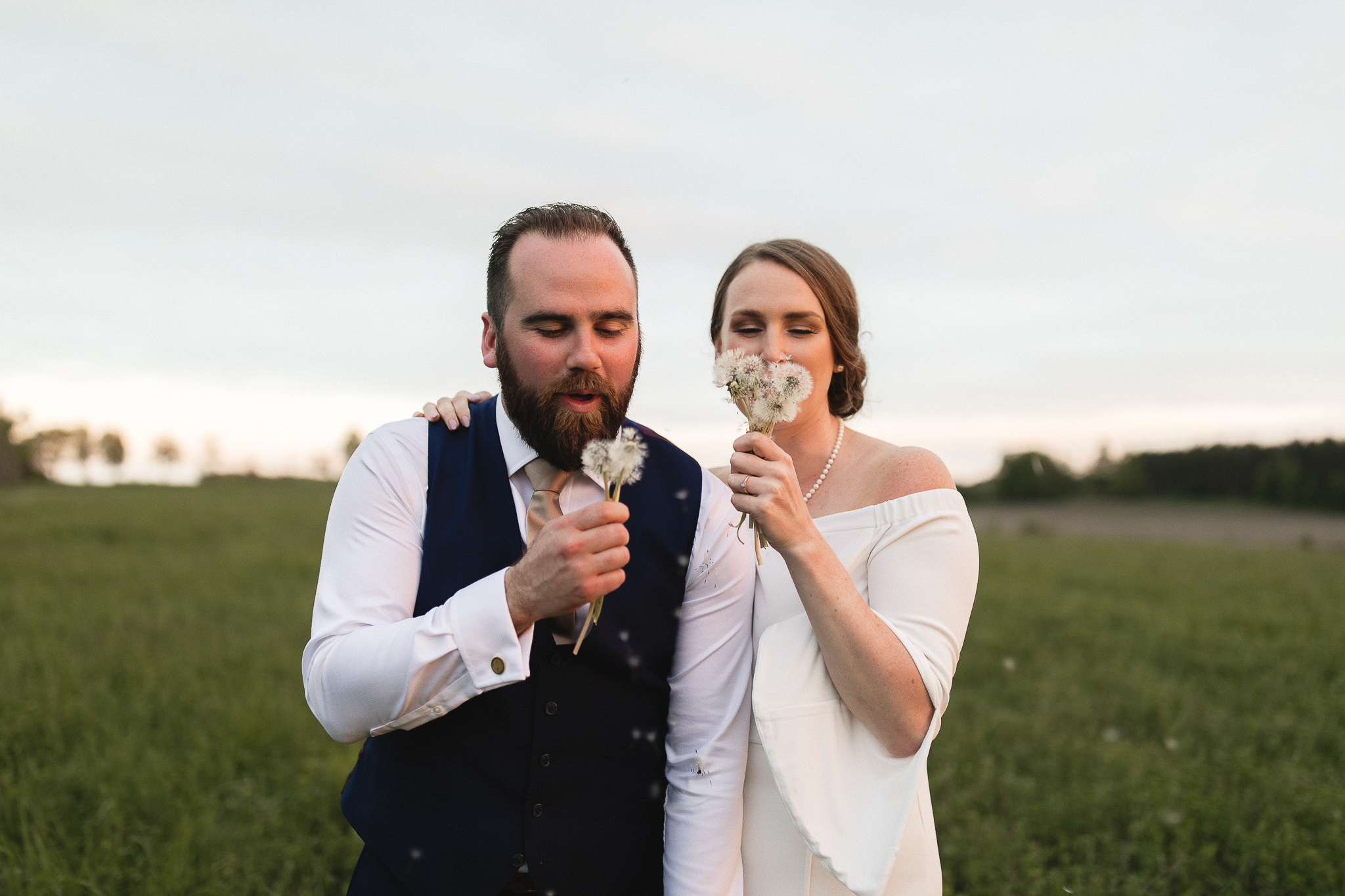 farm wedding portraits peterborough