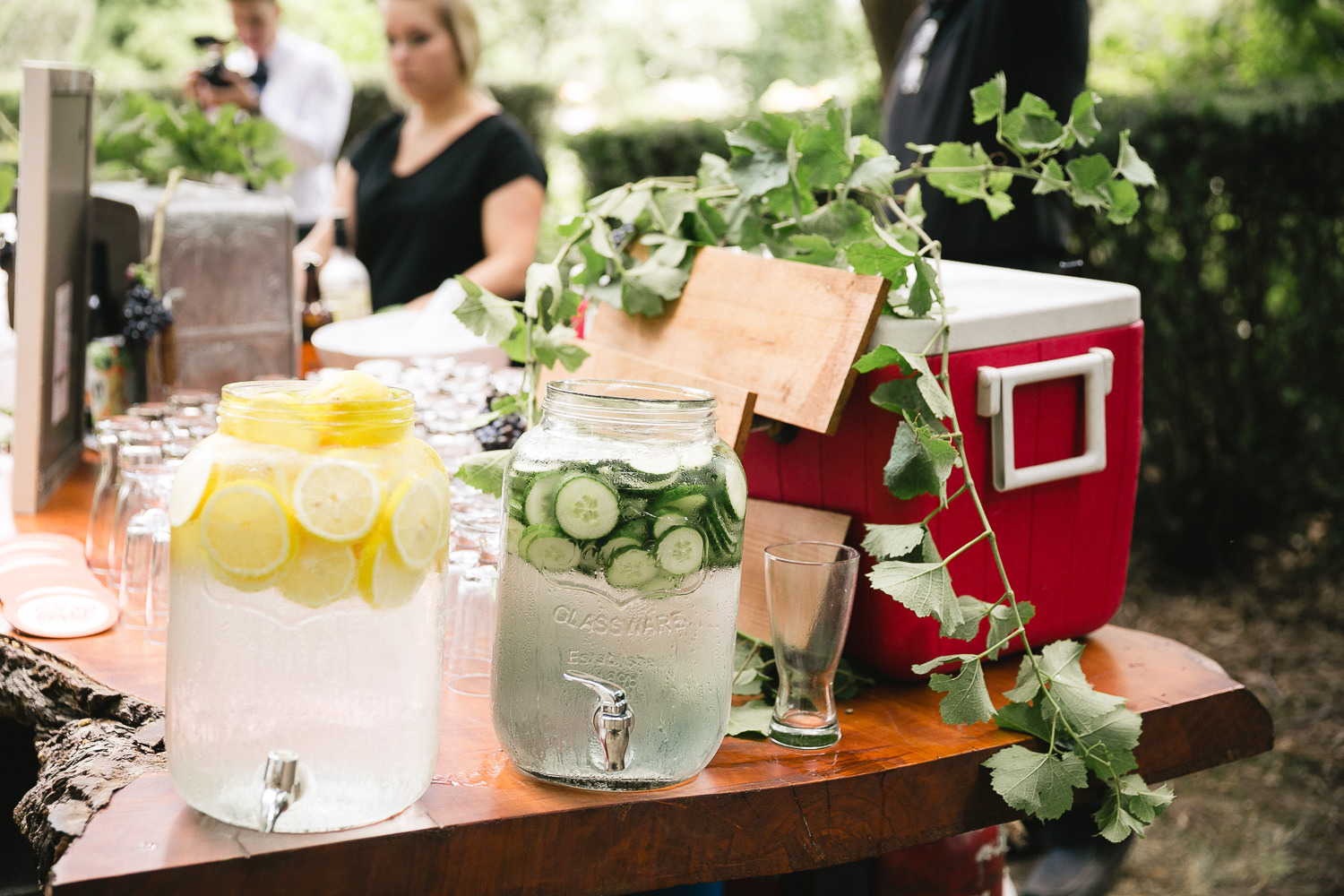 Gracewood Estates Wedding Cocktail hour