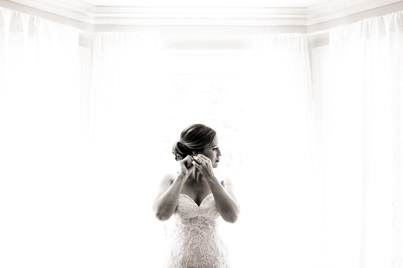 bride getting ready peterborough