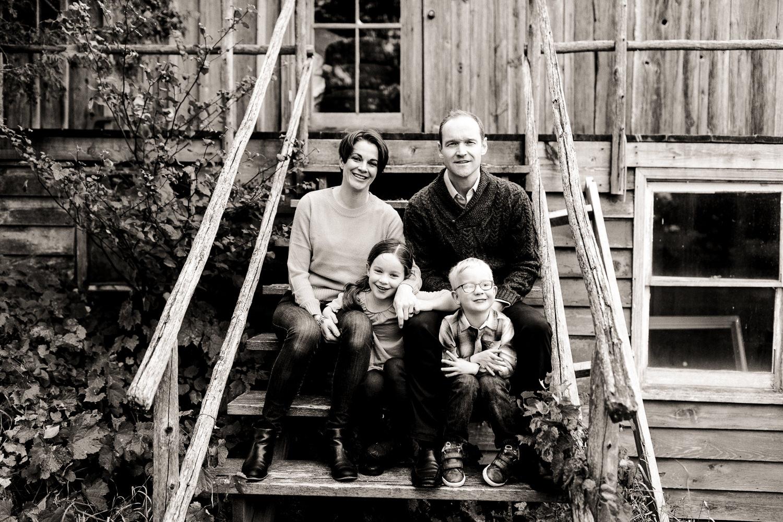 Farm family portrait session