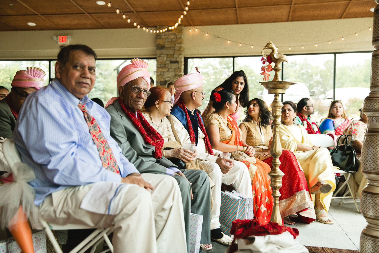 indian golf course wedding