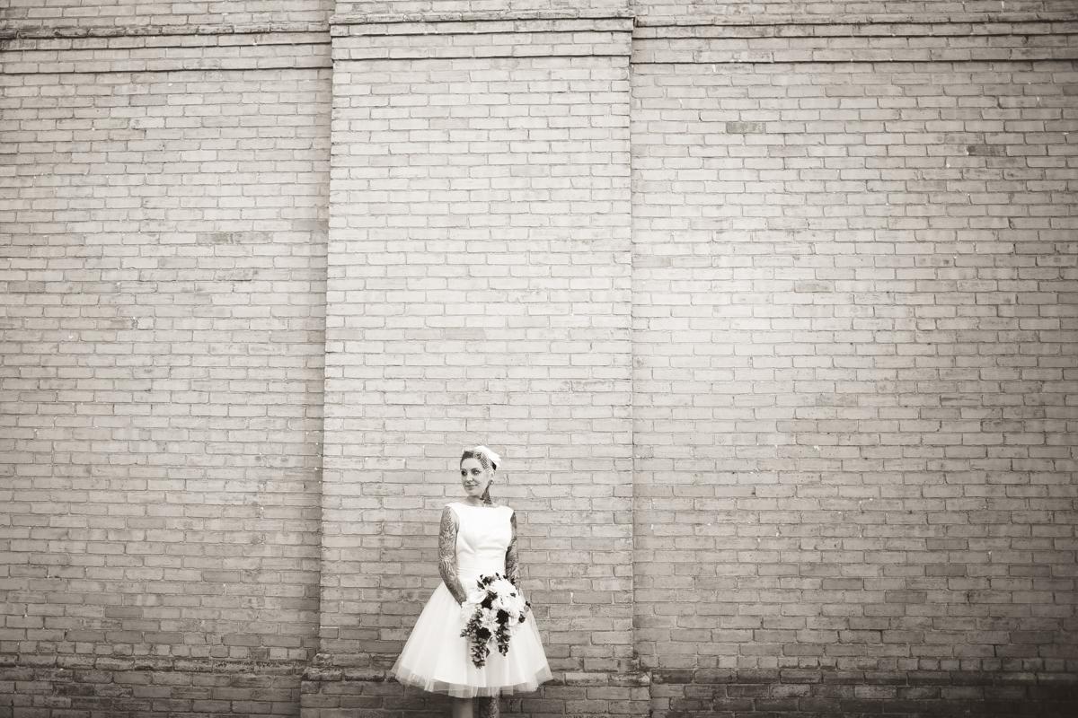 bride portraits peterborough wedding
