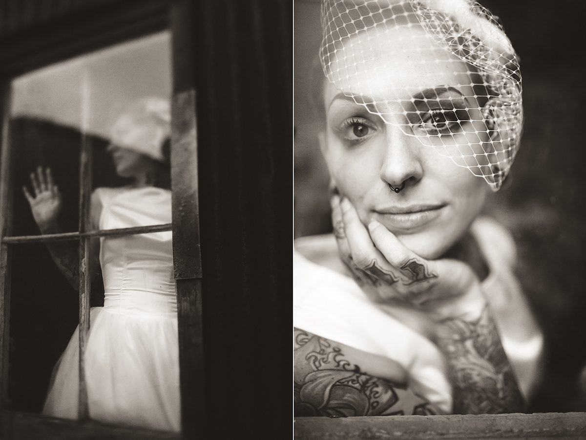 bride portraits tattoos