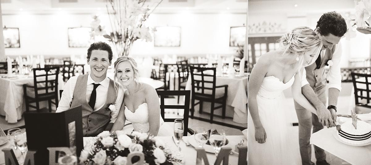 mexico beachside reception wedding photographer