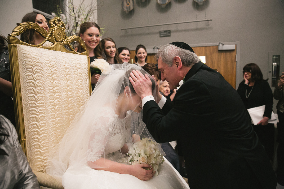 Badeken ceremony toronto jewish wedding