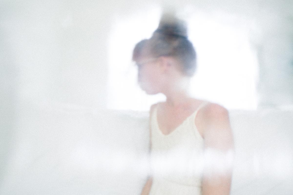 blurred self portrait