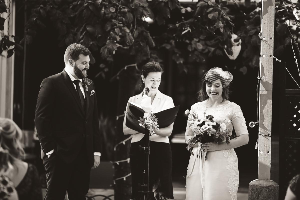 caffino wedding ceremony toronto