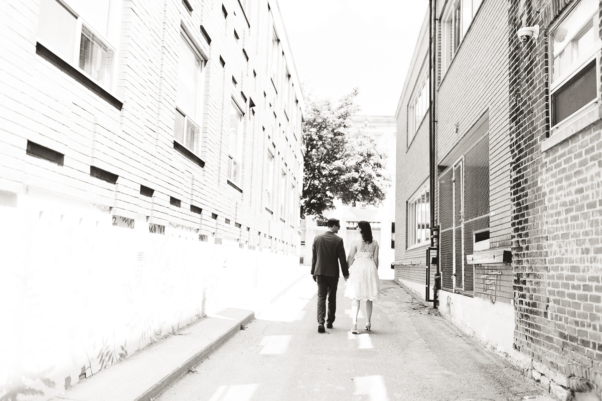 downtown peterborough wedding portraits