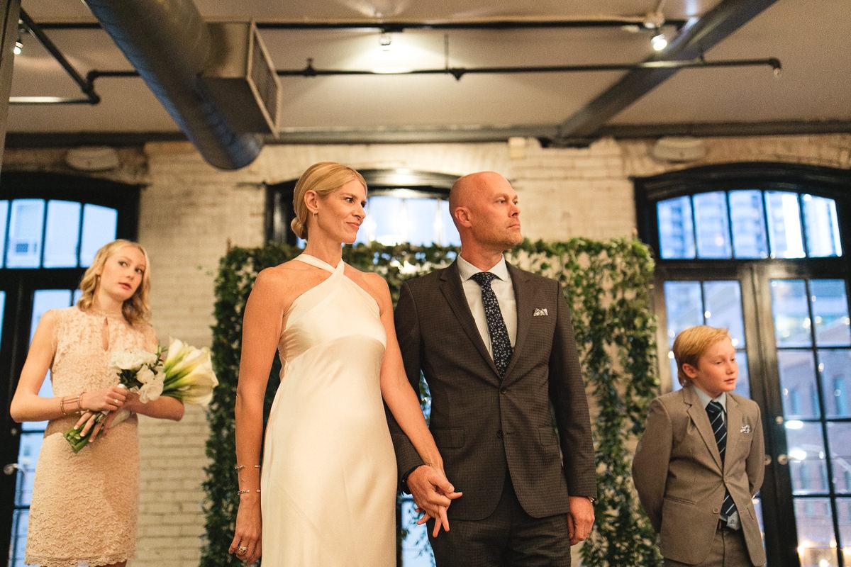 wedding ceremony storys building