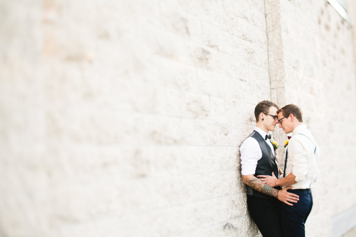 same sex groom portraits