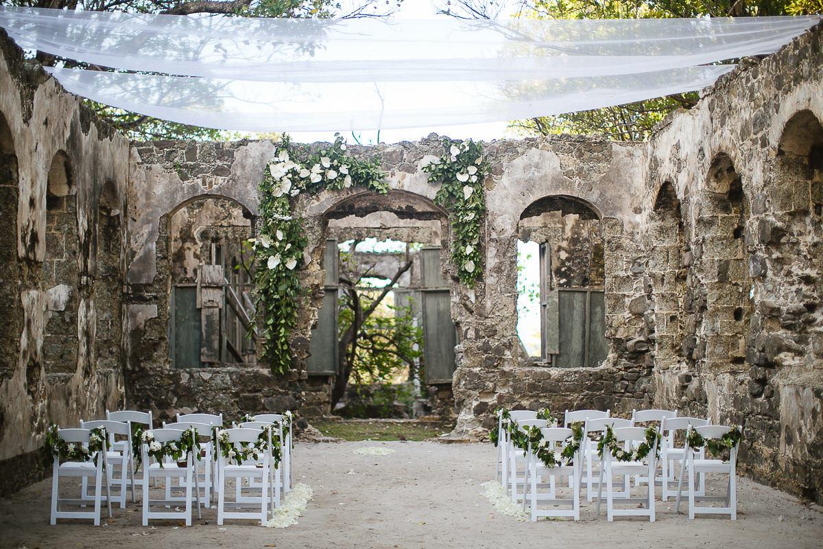 pigeon island wedding
