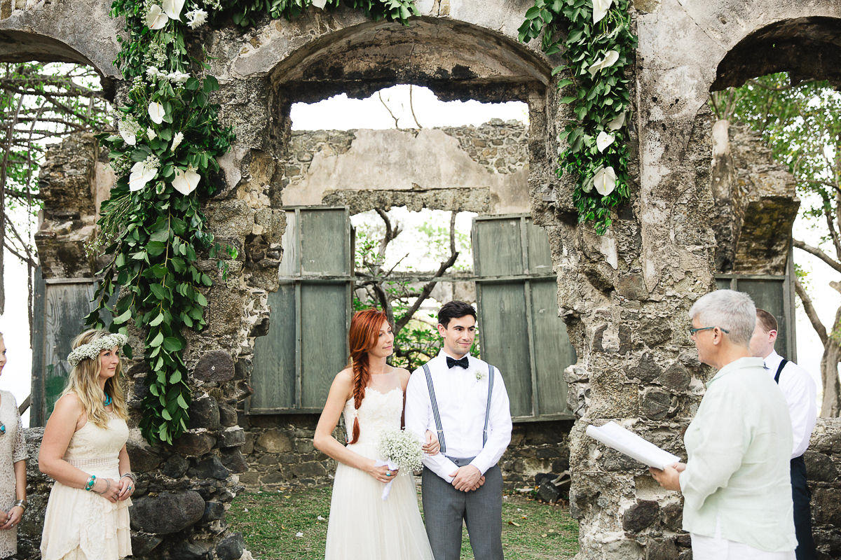 pigeon island wedding photographer st.lucia