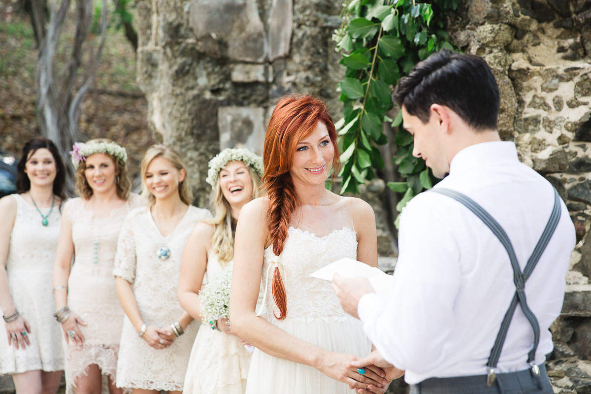 pigeon island wedding ceremony st.lucia