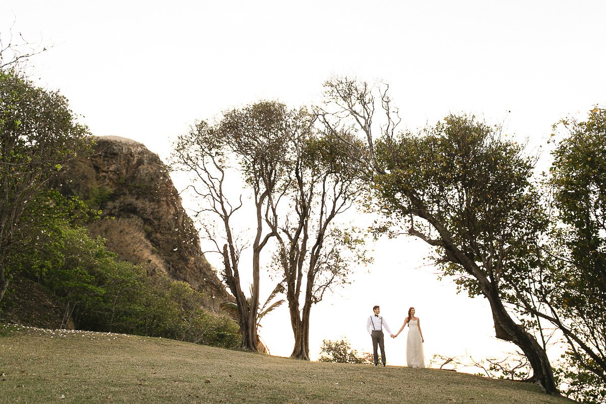 wedding on pigeon island