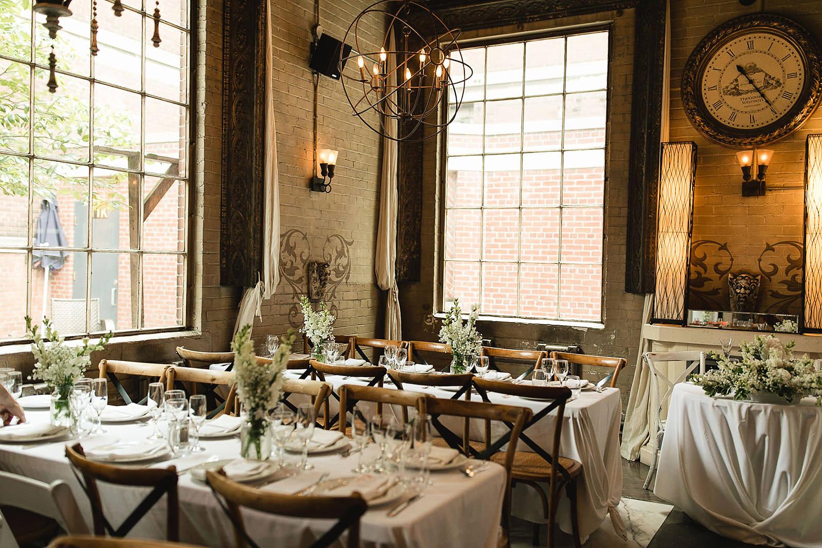 Reception decor Caffino