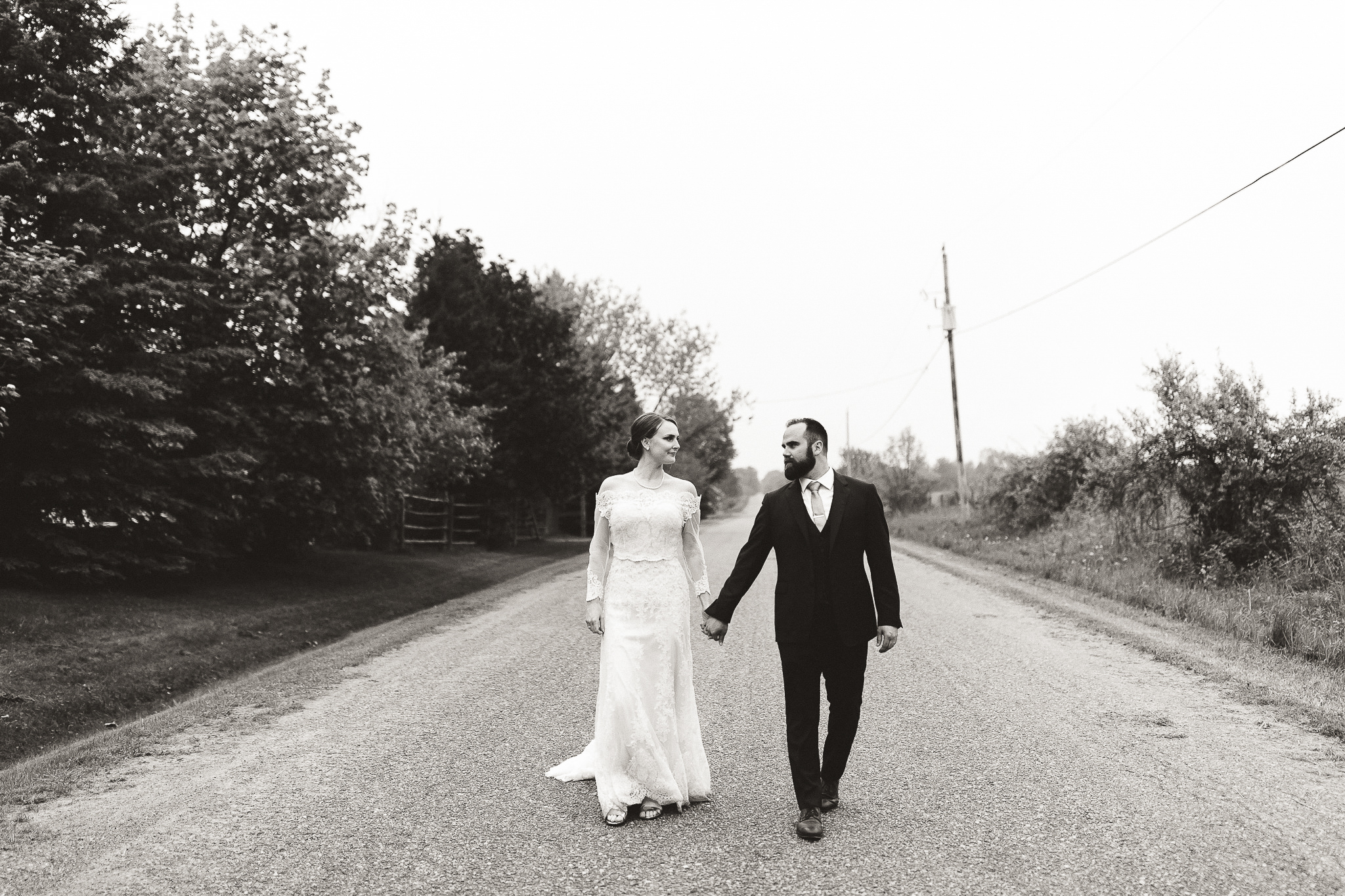 kawartha lakes farm wedding