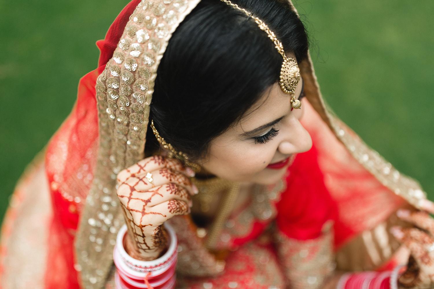 indian wedding portraits